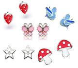 Kids Silver Earrings