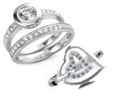 Cz Silver Rings