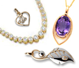 Gold, Gemstone & Diamond Pendants