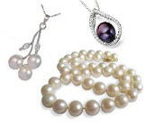 Pearl Necklaces & Pendants