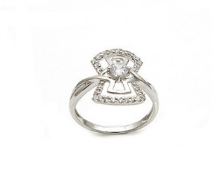 925 Silver Cz Ring