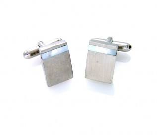925 Silver Mother of Pearl Cufflinks