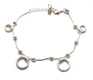 925 Silver Rings Bracelet