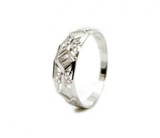 925 Silver Intricate Pattern Ring