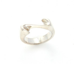 925 Silver Twisted Ring