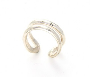 925 Silver Open Shank Ring