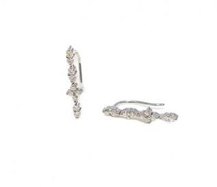 9k White Gold 0.34ct Diamond Earrings