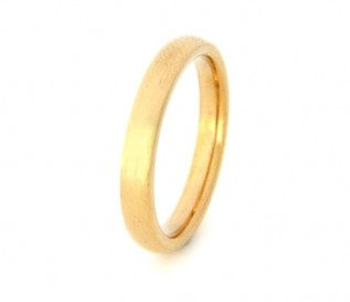 18k Yellow Gold 3mm Wedding Band