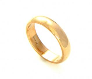 9k Yellow Gold 3mm Ladies Wedding Band